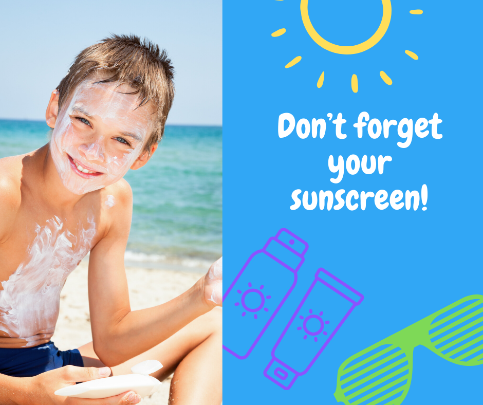 Dont Forget Sunscreen